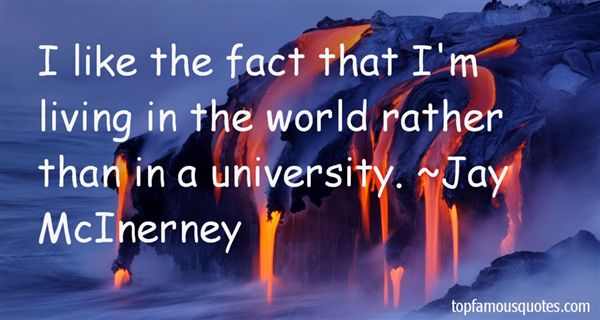 Jay McInerney Quotes