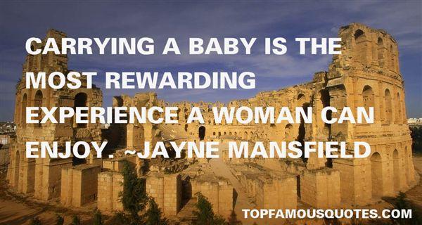 Jayne Mansfield Quotes