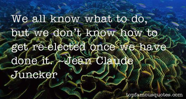 Jean Claude Juncker Quotes