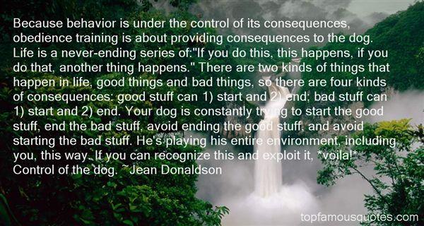 Jean Donaldson Quotes