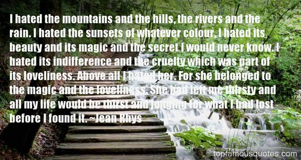 Jean Rhys Quotes