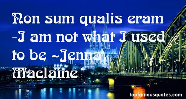 Jenna Maclaine Quotes