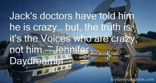 Jennifer Daydreamer Quotes