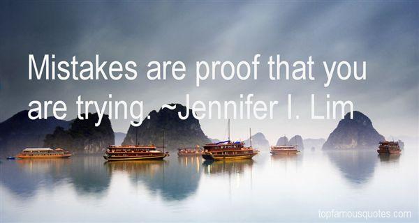 Jennifer I. Lim Quotes