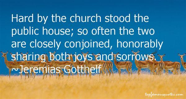 Jeremias Gotthelf Quotes
