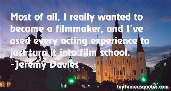 Jeremy Davies Quotes