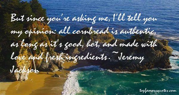 Jeremy Jackson Quotes