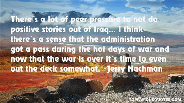 Jerry Nachman Quotes