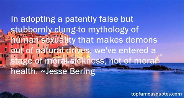 Jesse Bering Quotes