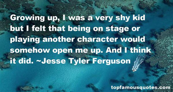 Jesse Tyler Ferguson Quotes