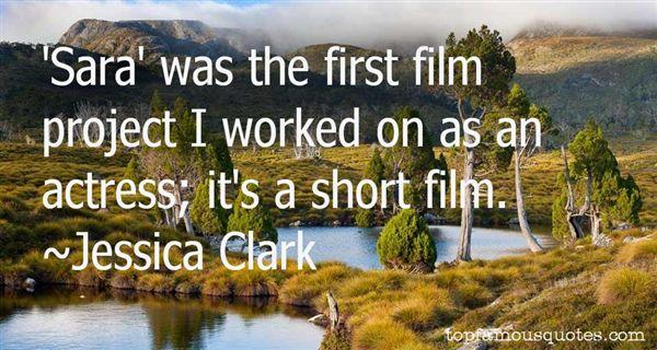 Jessica Clark Quotes