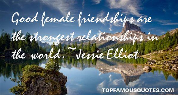 Jessie Elliot Quotes