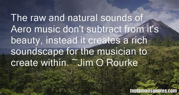 Jim O Rourke Quotes