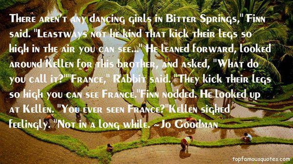 Jo Goodman Quotes