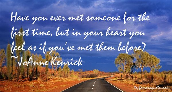 JoAnne Kenrick Quotes