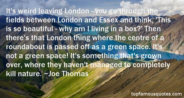 Joe Thomas Quotes