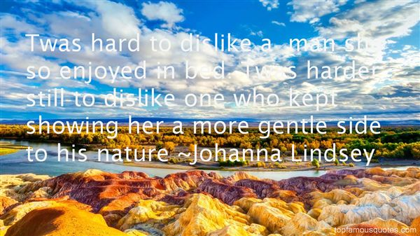 Johanna Lindsey Quotes