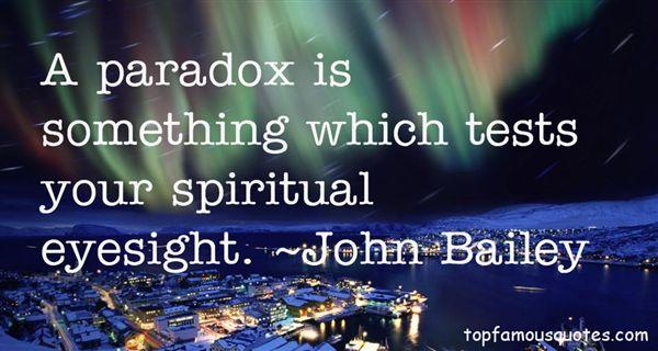 John Bailey Quotes