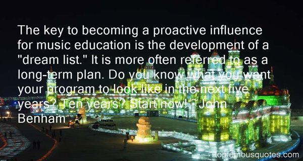 John Benham Quotes