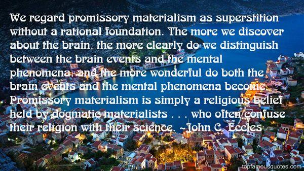 John C. Eccles Quotes