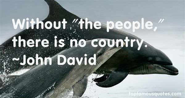 John David Quotes