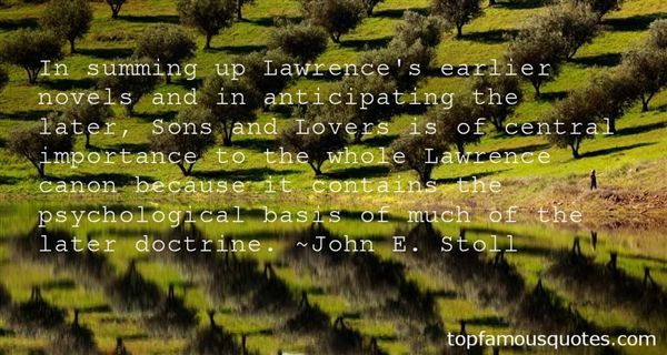John E. Stoll Quotes