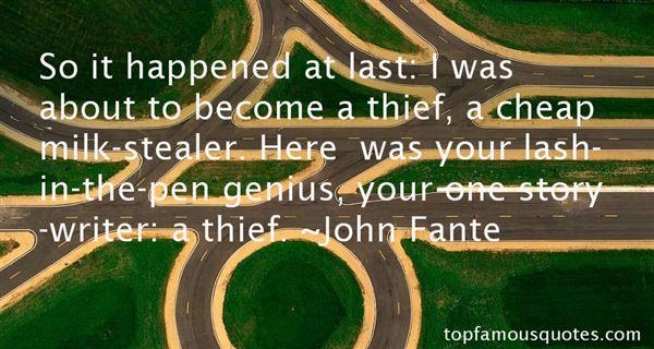 John Fante Quotes