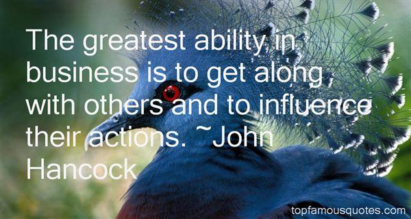 John Hancock Quotes