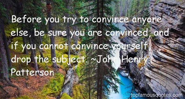 John Henry Patterson Quotes