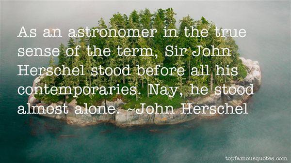 John Herschel Quotes