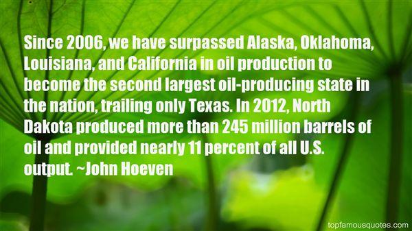 John Hoeven Quotes