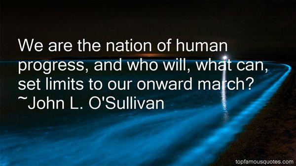 John L. O'Sullivan Quotes