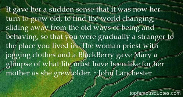 John Lanchester Quotes