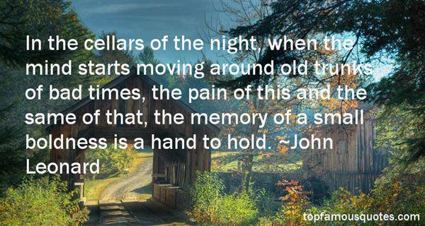 John Leonard Quotes