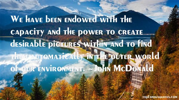 John McDonald Quotes