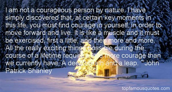 John Patrick Shanley Quotes