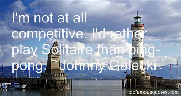 Johnny Galecki Quotes