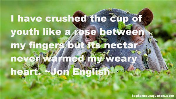 Jon English Quotes