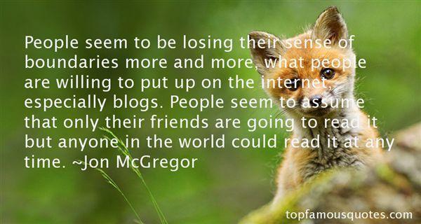 Jon McGregor Quotes