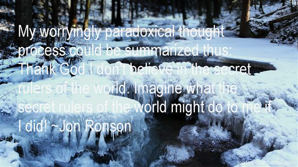 Jon Ronson Quotes