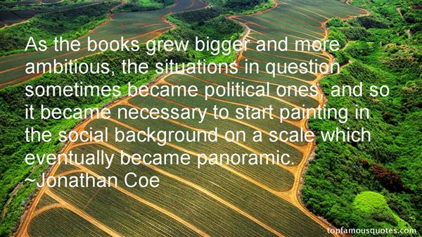 Jonathan Coe Quotes