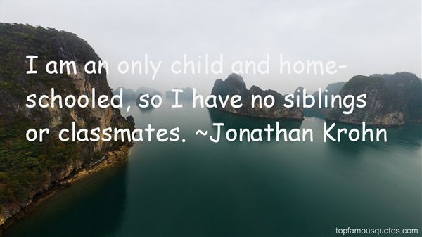 Jonathan Krohn Quotes