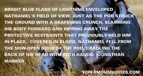 Jonathan Marker Quotes