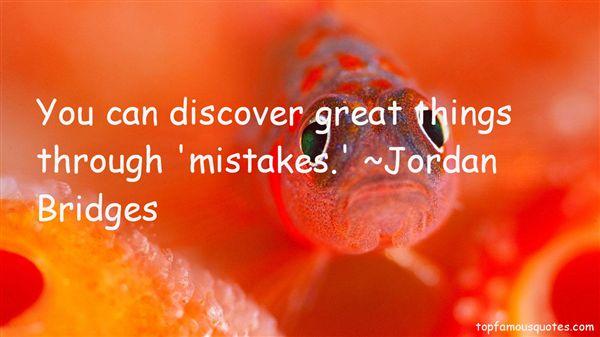Jordan Bridges Quotes