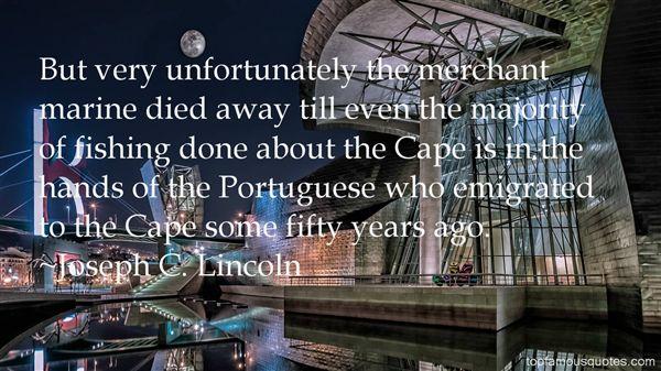 Joseph C. Lincoln Quotes