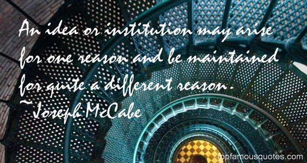 Joseph McCabe Quotes