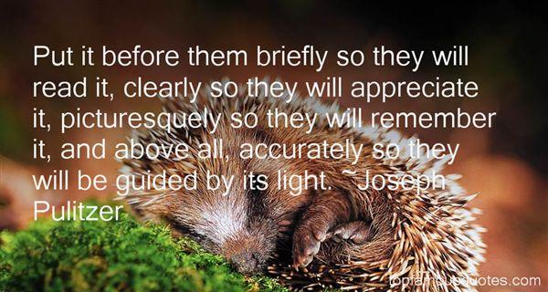 Joseph Pulitzer Quotes