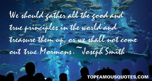 Joseph Smith Quotes