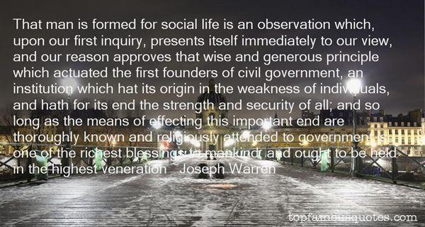 Joseph Warren Quotes