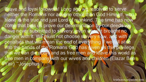 Josephus Quotes